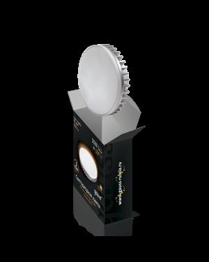 Лампа светодиодная GX70 10W 2700K таблетка матовая EB131016110