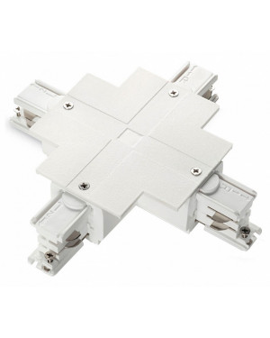 Коннектор X-образный Ideal Lux Link Trim X-Connector White